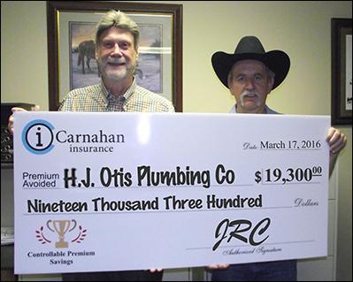 Carnahan Insurance - H.J otis plumbing co